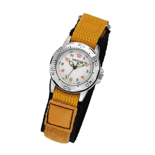 ZEEme Watches Unisex Armbanduhr Analog Quarz Textil 095000037