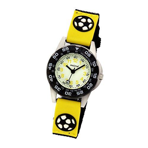 ZEEme Watches Unisex Armbanduhr Analog Quarz Textil 095000042