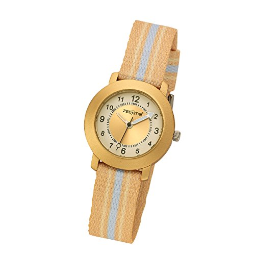 ZEEme Watches Unisex Armbanduhr Analog Quarz Textil 095000044