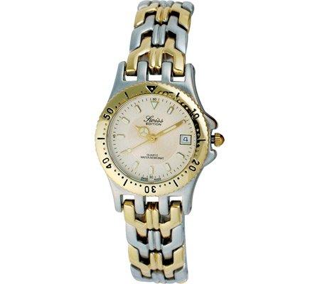 Swiss Edition Damen se3600 l bicolor Sport Luenette Uhr