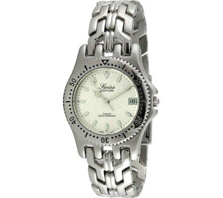 Swiss Edition se3601 l Damen Silber Sport Luenette Uhr