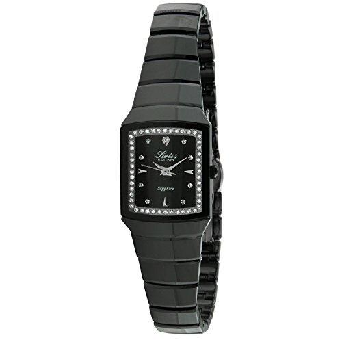Swiss Edition se3823bk Swarovski Keramik Black Watch
