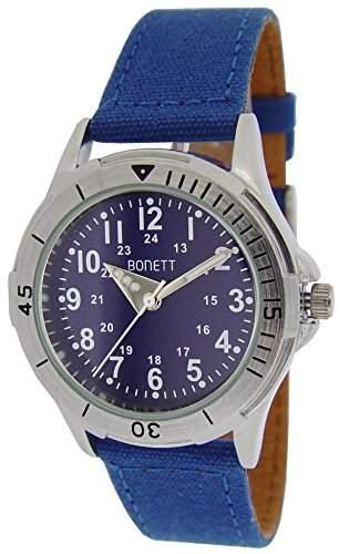 Bonett Jungen - Armbanduhr Analog Quarz Blau 1403B