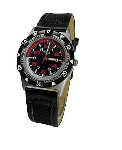 Seits Jungen - Armbanduhr Analog Quarz Rot  Schwarz 561719Gsr