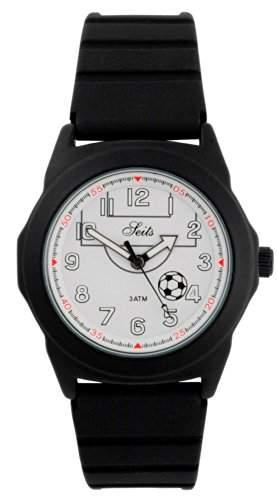 Seits Jungen - Armbanduhr Analog Quarz Fussball 65368655h