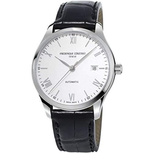 Frederique Constant Herren-Armbanduhr Analog Automatik Leder FC-303SN5B6
