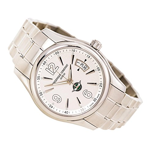 Frederique Constant Healey Automatic Stainless Steel Mens Watch Silver Dial Calendar FC 303HS6B6B