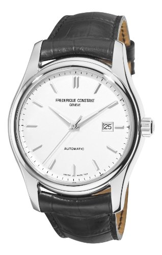 Frederique Constant Index Automatic Stainless Steel Mens Strap Watch Calendar FC 303S6B6