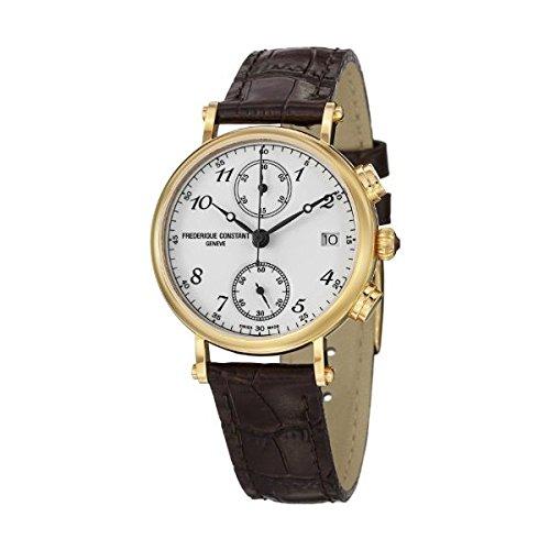 Frederique Constant Chronograph Quarz Leder FC 291A2R5
