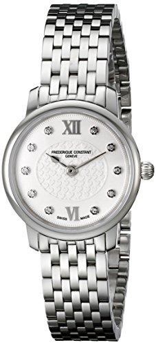 Frederique Constant Damen Diamanten 25mm Saphirglas Uhr FC 200WHDS6B