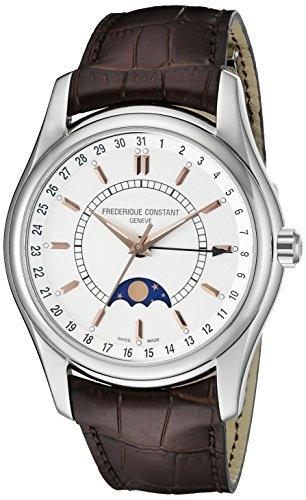 Frederique Constant Herren fc 330 V6b6 Index braun Gurt Moon Phase Uhren von Frederique Constant