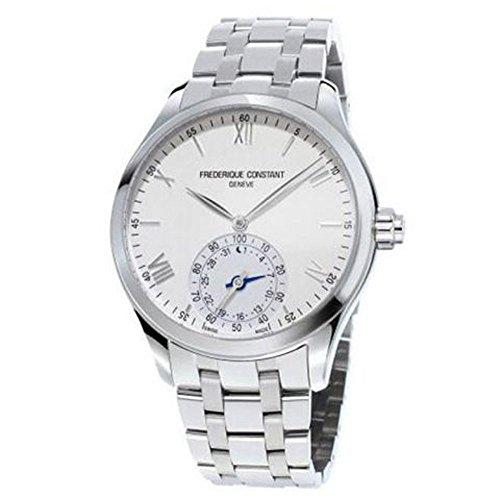 Frederique Constant hochwertig Smart Uhr Silber Zifferblatt Edelstahl Herren Armbanduhr fc 285s5b6b von Frederique Constant