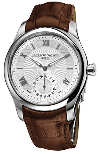 Frederique Constant Maxime Manufacture Automatic Steel Mens Strap Watch Calendar FC 700MS5M6