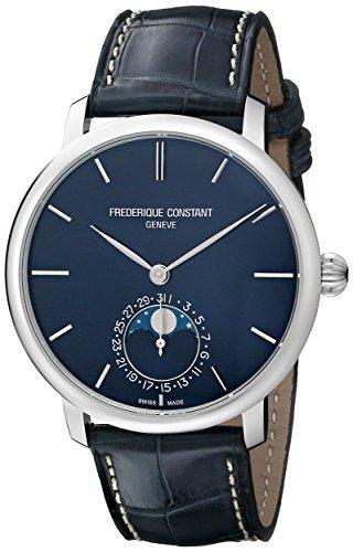 Frederique Constant Manufacture Slimline Moonphase Armbanduhr 42mm FC 705N4S6