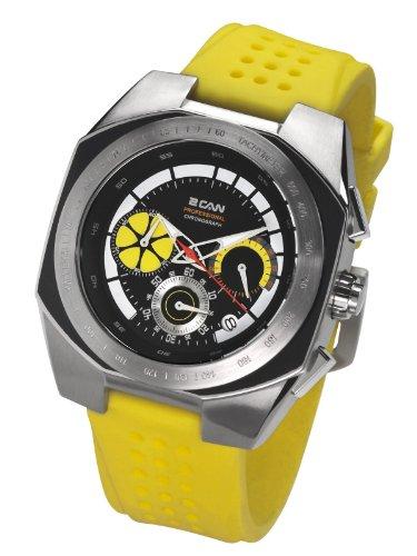 2 Can Professional Timepieces Caliper SP1578C BK Elegante Massives Gehaeuse