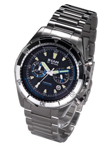 2 Can Professional Timepieces Navy X SM1604BK Elegante Justierbare Luenette
