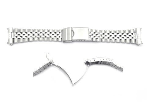 Hadley Roma 18 mm Herren Jubilee Style Edelstahl Armband