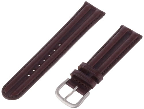 Hadley Roma Maenner MSM890RB 200 20 mm Brown Waterproof Leder Armband