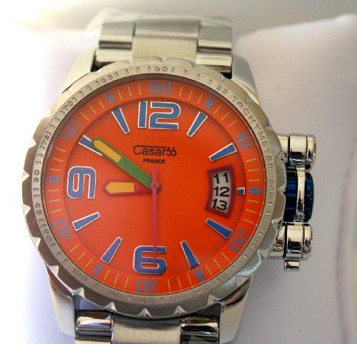 Waooh Uhren Orange Casar55 Z684g