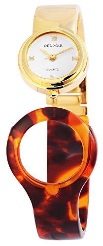 mit Metall Spange Armbanduhr Uhr Weiss 100402000324