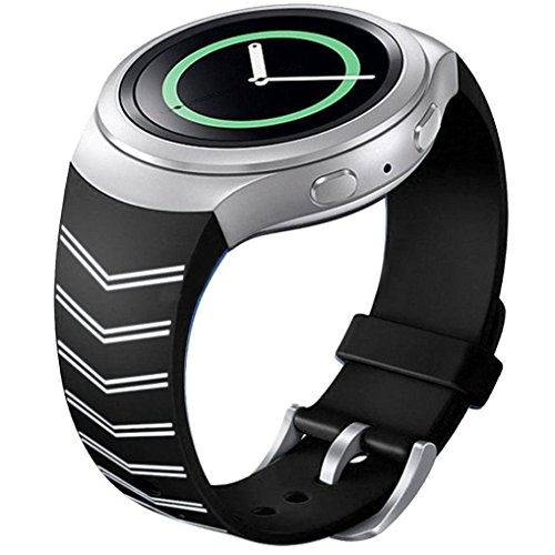 Luxury TPU Silicone Watch Band Strap For Samsung Galaxy Gear S2 SM R720