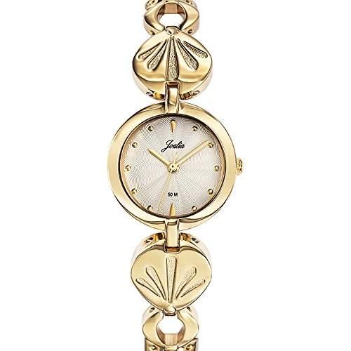 Joalia Damen-Armbanduhr 631880 Analog Quarz Gold 631880
