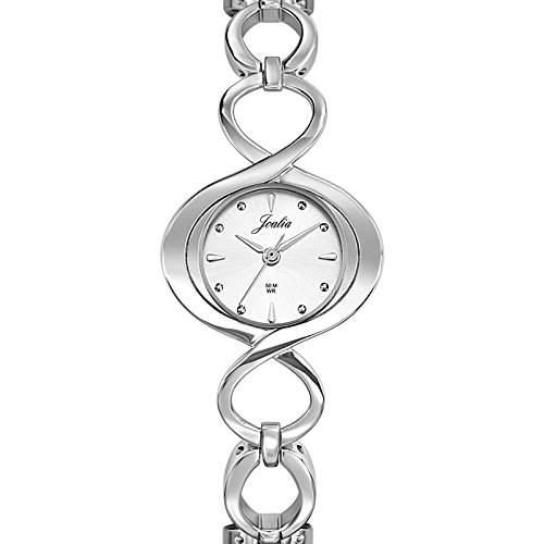 Joalia Damen-Armbanduhr Analog Quarz Silber 633254
