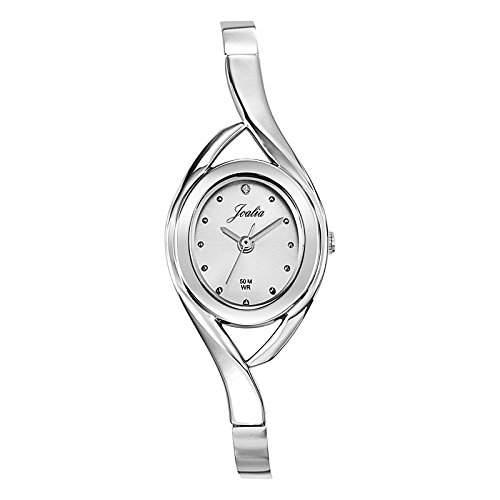Joalia-633263Damen-Armbanduhr 045J699Analog silber Armband Metall silber