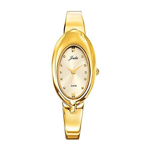 Joalia 631833 Damen Armbanduhr 045J699 Analog gold Armband Metall gold