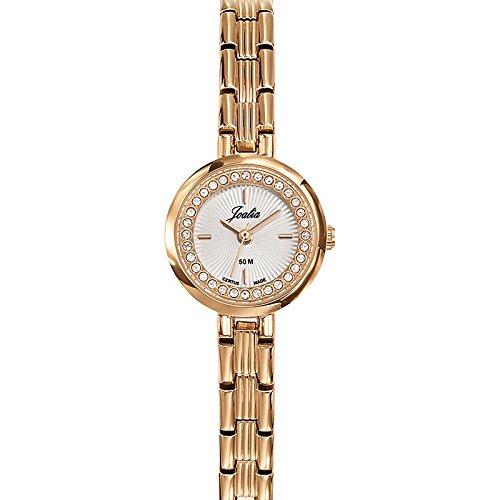 Joalia 631937 Damen Armbanduhr 045J699 Analog silber Armband Metall Rosa