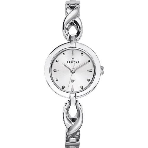 Joalia 633271 Damen Armbanduhr 045J699 Analog silber Armband Metall silber