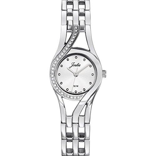 Joalia 633320 Damen Armbanduhr 045J699 Analog silber Armband Metall silber