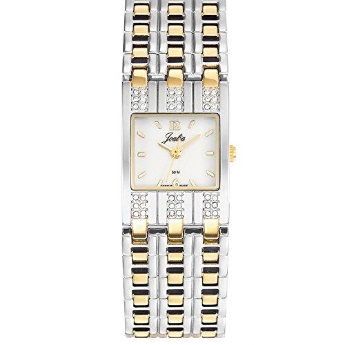 Joalia 634570 045J699 Analog weiss Armband Metall Zweifarbig