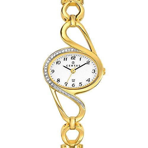 Joalia Uhr Analog Quarz 631809 Damen Armband Metall goldfarben
