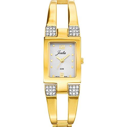 Joalia Damen Armbanduhr 631863 Analog Quarz Gold 631863