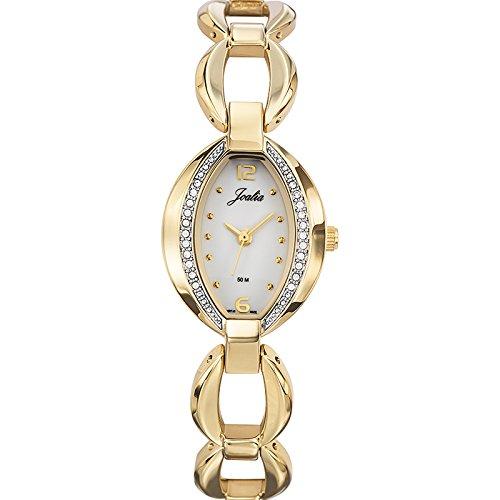 Joalia Damen Armbanduhr 631868 Analog Quarz Gold 631868