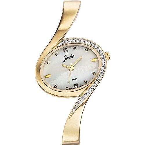 Joalia Damen Armbanduhr 631876 Analog Quarz Gold 631876