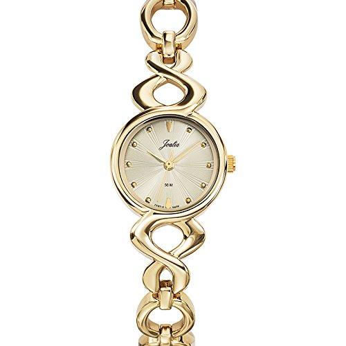 Joalia Damen Armbanduhr 631884 Analog Quarz Gold 631884