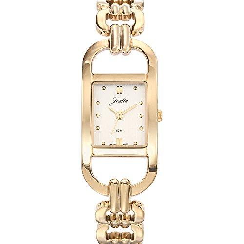Joalia Damen Armbanduhr 631887 Analog Quarz Gold 631887