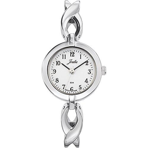 Joalia Damen Armbanduhr 633270 Analog Quarz Silber 633270