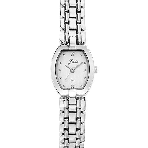 Joalia Damen Armbanduhr 633280 Analog Quarz Silber 633280