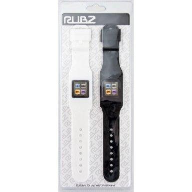RUBZ RUB201 Pack of 2 White Black NANO WATCH HOLDERS