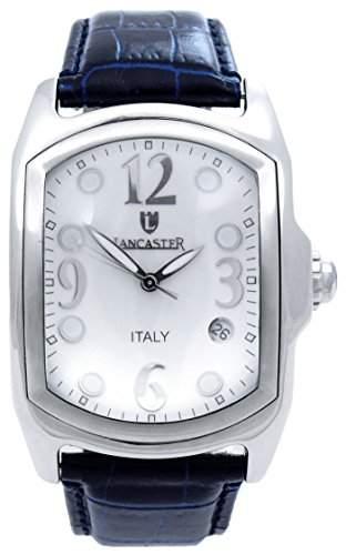 Lancaster Herren-Armbanduhr Analog Quarz Leder 0200WODB
