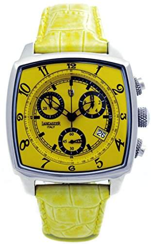 Lancaster Herren-Armbanduhr Analog Quarz Leder 0262GSG