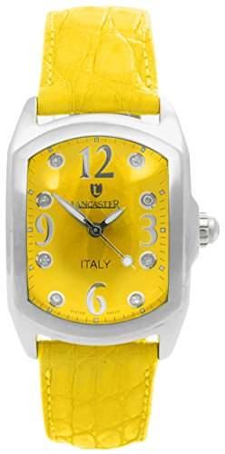 Lancaster Damen-Armbanduhr Analog Quarz Leder 0264GLGL