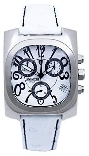 Lancaster Damen-Armbanduhr Analog Quarz Leder 0287WSW