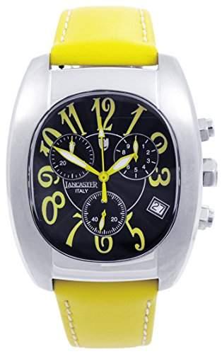 Lancaster Herren-Armbanduhr Analog Quarz Leder 0289SGG
