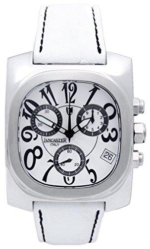 Lancaster Damen Armbanduhr Analog Quarz Leder 0287SWW