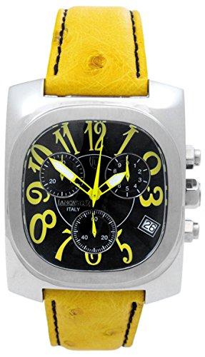 Lancaster Herren Armbanduhr Analog Quarz Leder 0287SGG
