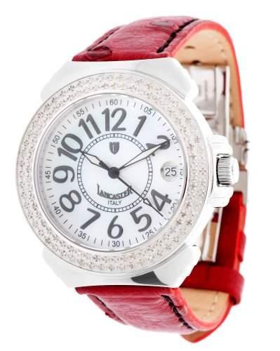 Lancaster Damen Armbanduhr weinrot OLA0226LS-BN-RS